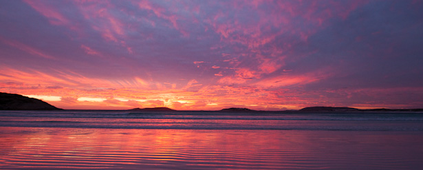 Butterbomb Sunset Photography Esperance