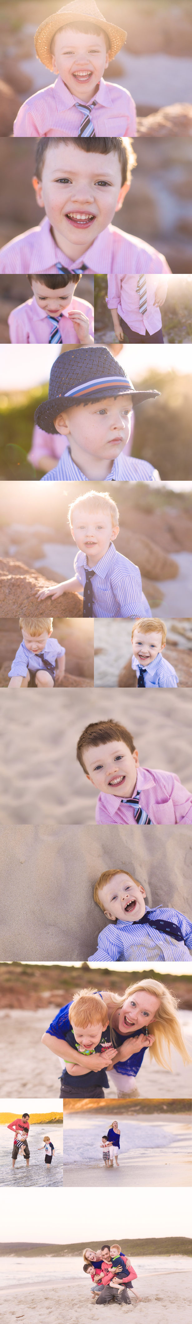 Butterbomb Family photography Smiths Beach