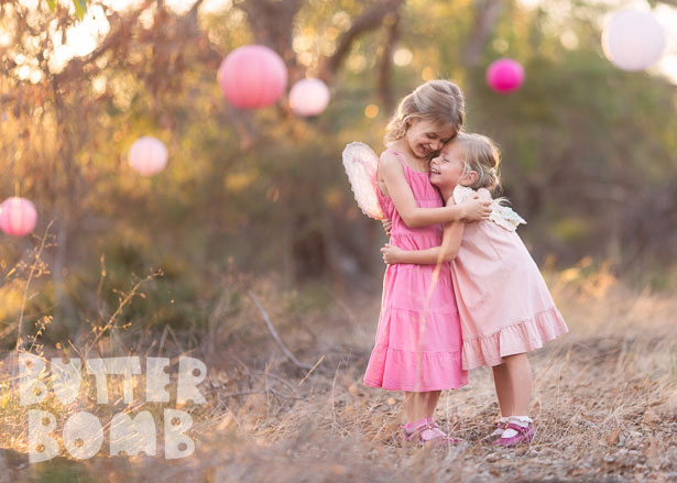 Butterbomb Child Photographer Perth